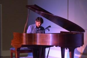 Hoffmeyer performs in Darlington