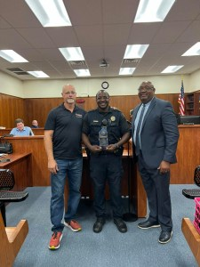 A life saved, an officer honored