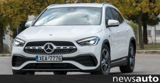 Βίντεο: Το Mercedes GLA 250 e με ηλεκτρική εμβέλεια 63 km