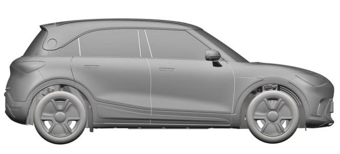 ηλεκτρικό SUV της Smart