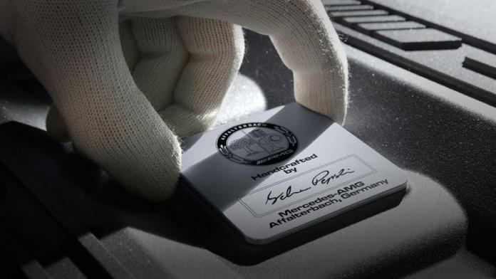 Mercedes V12 engine-AMG-15A1335