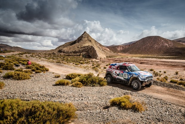 2016-Dakar,-Jakub-Kuba-Przygonski-(POL),-Andrei-Rudnitski-(BLR),-MINI-ALL4-Racing---ORLEN-Team-327---06.01.2016