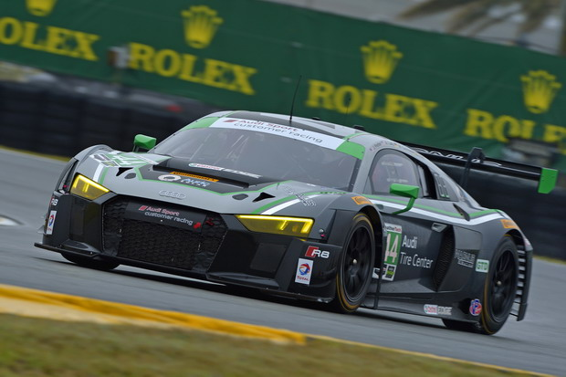 28-31 January, 2016, Daytona Beach, Florida USA 44, Audi, R8 LMS GT3, GTD, John Potter, Andy Lally, Marco Seefried, Rene Rast ©2016, F. Peirce Williams LAT Photo USA