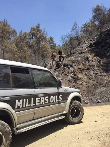Fire- Millers oil