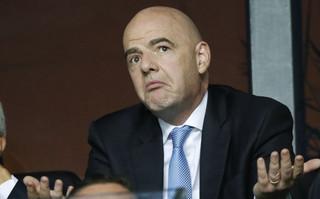 Ο Τζάνι Ινφαντίνο, πρόεδρος της FIFA