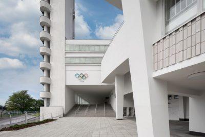 Pääsisäänkäynti Olympiastadionin A-katsomoon. Kuva: Stadion-säätiö/Wellu Hämäläinen