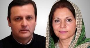 PTI's Waleed Iqbal and Seemi Ezdi