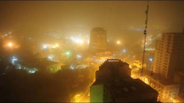 Karachi in grip
