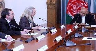 Alice Wells, Ashraf Ghani