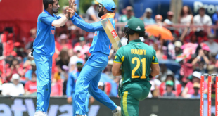 India to face South Africa