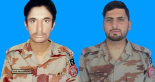 Two FC personnel martyred in Balochistan