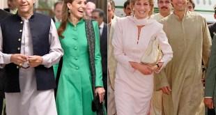Princes Diana and Imran khan