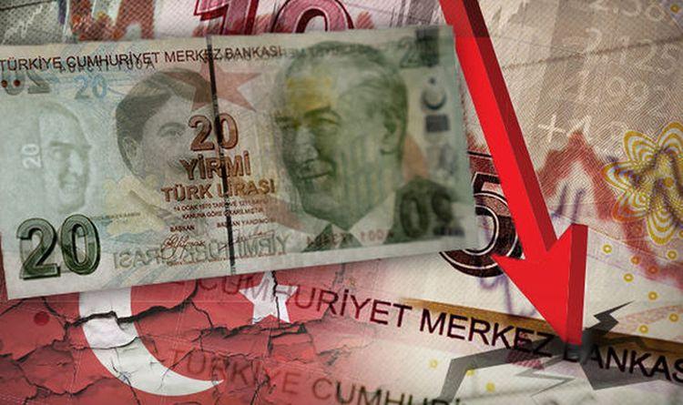 Συντριβή της τουρκικής λίρας