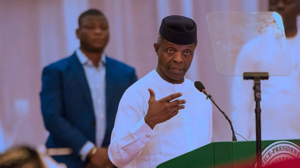 Vice President Yemi Osinbajo Says Part Of The Tasks Given To The Economic Sustainability Committee Which He Chairs, Is To Develop Further Palliatives. According To The Vice President, Containing The