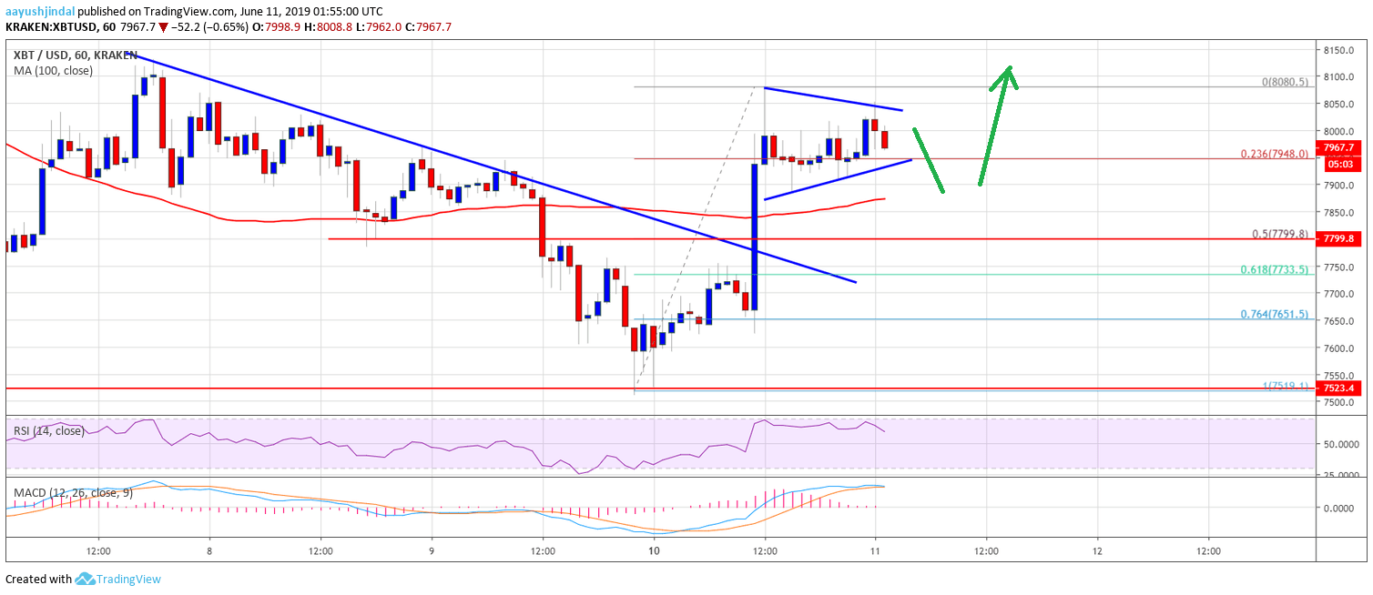 Bitcoin (BTC) Price Recovers Sharply: Is This A Real Bullish Move