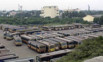 Tamil Nadu State Road Transport Workers on Strike