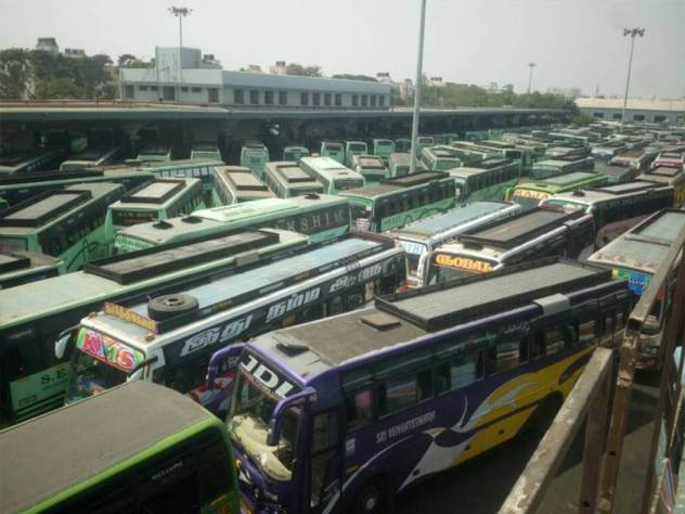 Passengers were put on multiple problems on Monday morning as the indefinite transport strike