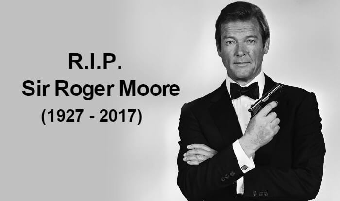 Roger Moore, aged 89 was death in Switzerland on Tuesday