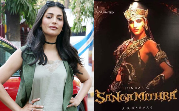 Sangamithra the move of Director Sundar C this is the Tamil -Telugu movie