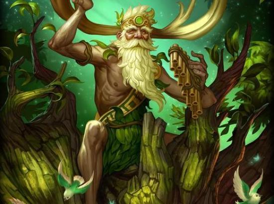 God of Forest - Silvanus
