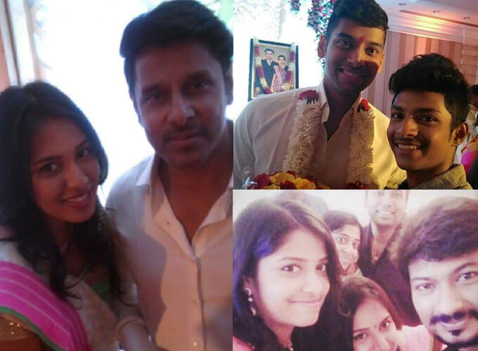 Vikram's Daughter Marriage