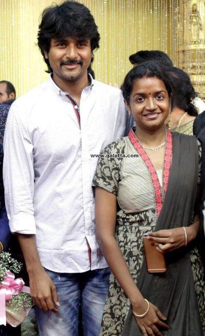 Sivakarthikeyan wife Aarthi
