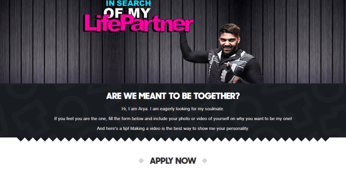 Arya's Matrimonial Site and Official Statement About His Marriage