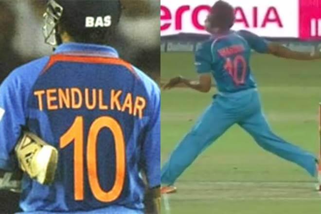 BCCI Unofficially Retires the Sachin Tendulkar's Jersey number 10