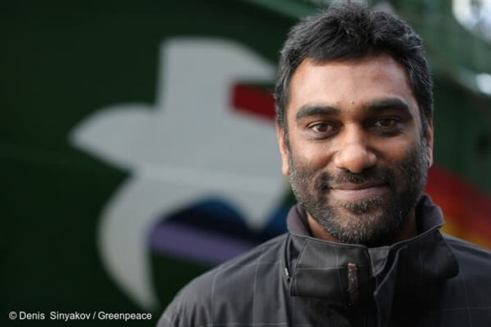 Kumi Naidoo at Greenpeace Organization