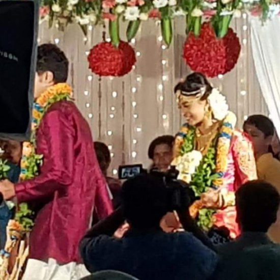 Eruma Saani Harija Marriage Photos