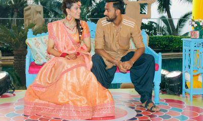 Krunal Pandya and Pankhuri Sharma Wedding Photos