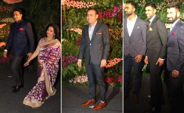 Bigwigs of Cricket World at Virushak's Reception