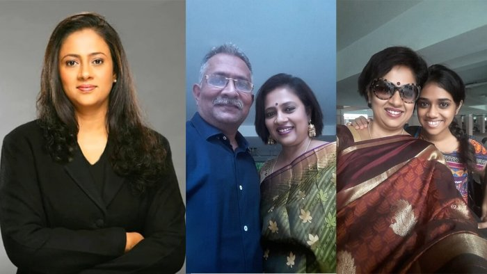 Lakshmy Ramakrishnan Family