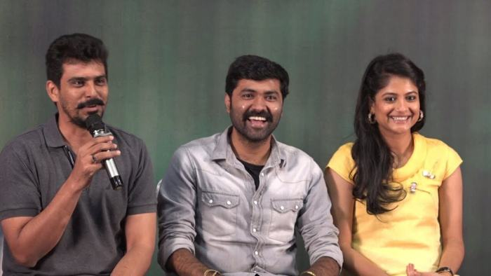 Arun Prabhu Purushothaman (Director) With Producer S R Prabhu