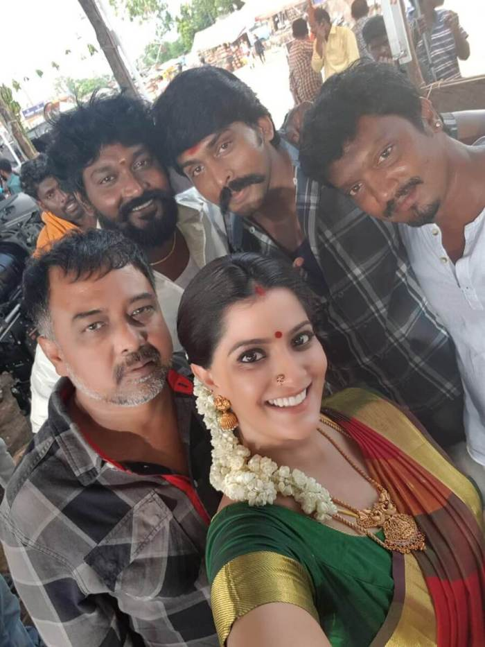 Arjai with Lingusamy , Varalakshmi and Others