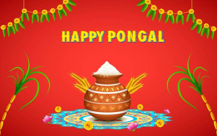 Happy Pongal Festival 2019