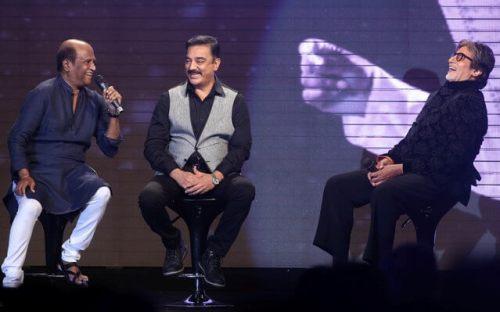 Kamal Haasan with Amitabh Bachan