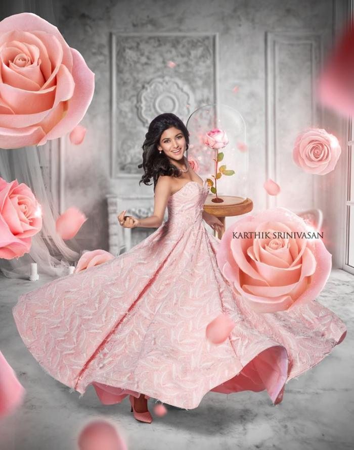Oviya Helen as in The Beauty and the Beast