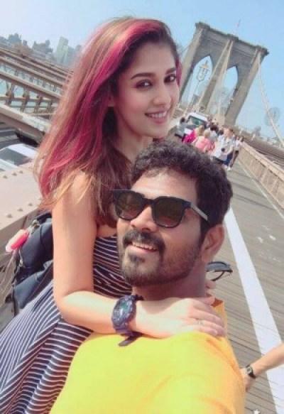 Nayanthara With Vignesh Shivan