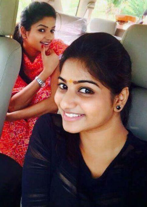 Nithya Ram With her Sister Rachitha Ram