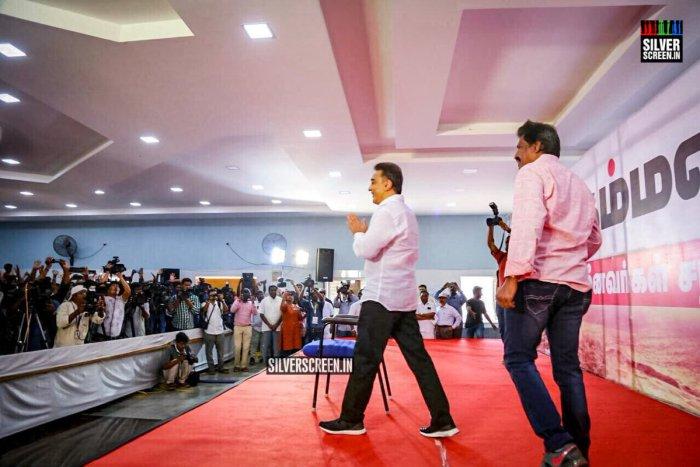 Kamal Haasan addresses fishermen community
