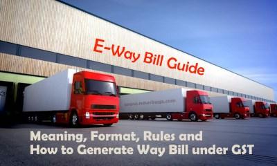 e-way bill guide