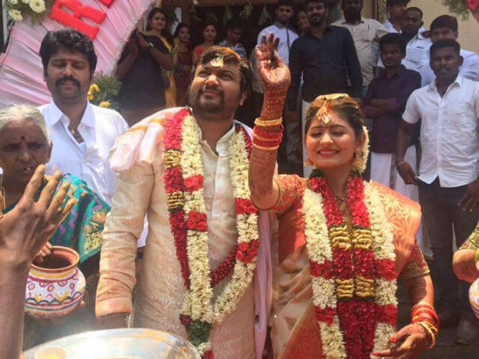 Bobby Simha Marriage Photos