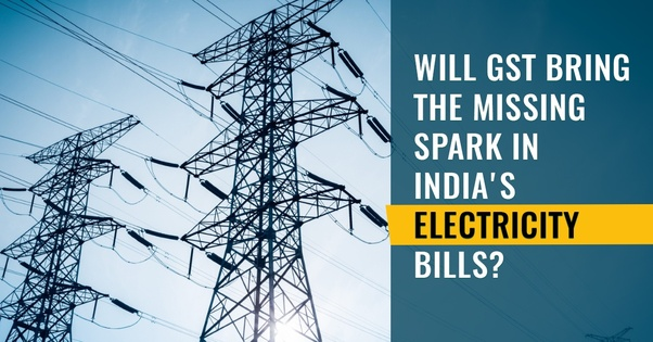 GST on Electricity Bill in India
