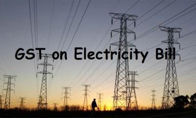 GST on Electricity Bill
