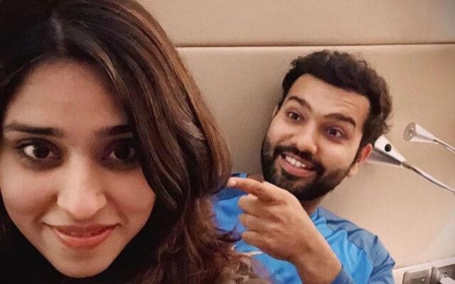 Rohit Sharma Wife Ritika Sajdeh Wiki