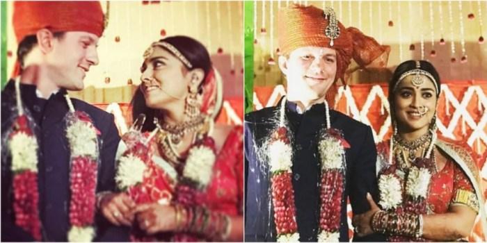 Andrei Koscheev and Shriya Saran Marriage Photos
