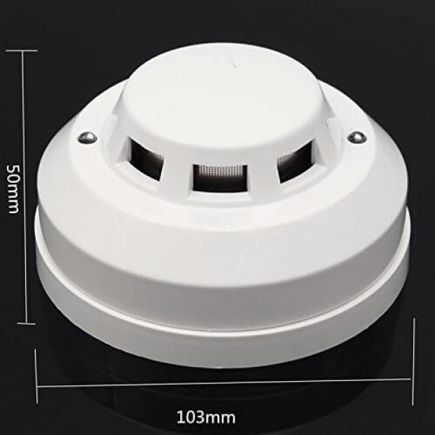 Saiyam Smoke Detector Home Security Safety Fire Alarm Gas Alarm Sensor System