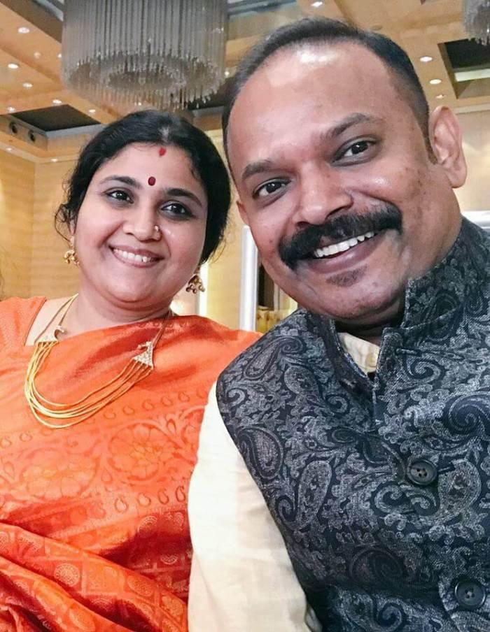 Venkat Prabhu Family | Venkat Prabhu Wife