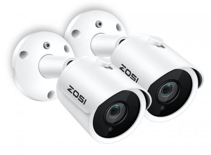 ZOSI 4CH 1080p Wireless Security Camera